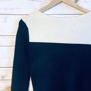 Derek Lam For Athleta Color Block Knit Sweater